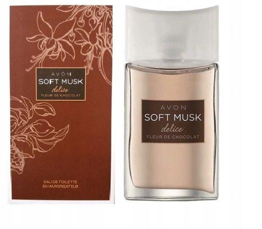 Woda toaletowa Soft Musk Delice Fleur de Chocolate, Avon