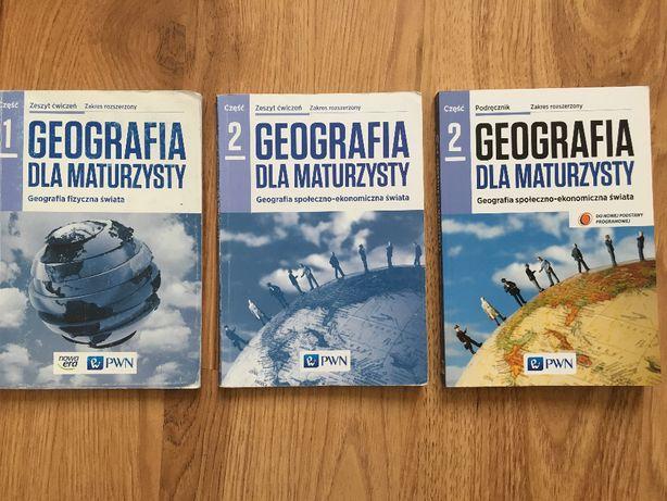 Geografia dla maturzysty podręcznik i zeszyt ćwiczeń