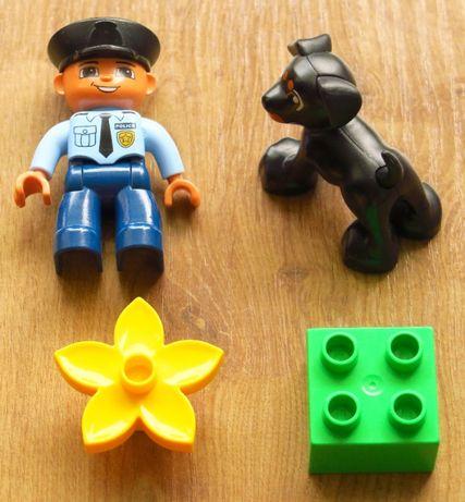Lego Duplo 5678 - Policjant i pies