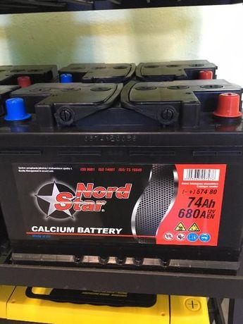 Akumulator Nord Star (Grupa ZAP SZNAJDER) 74Ah 680A