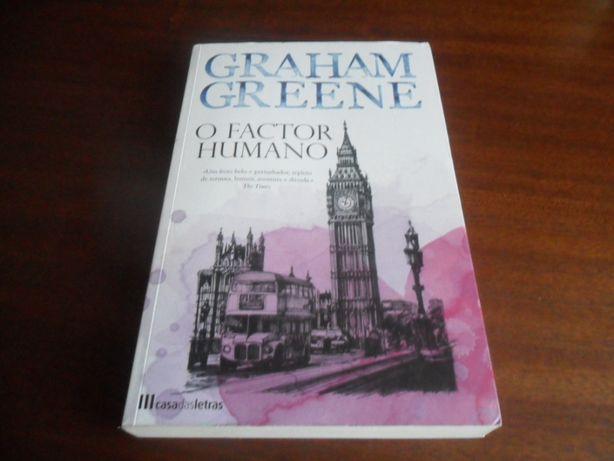 """O Factor Humano"" de Graham Greene"