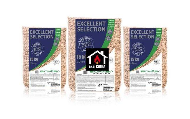 pellet drzewny BIOMASA excellent selection biomasa pelet
