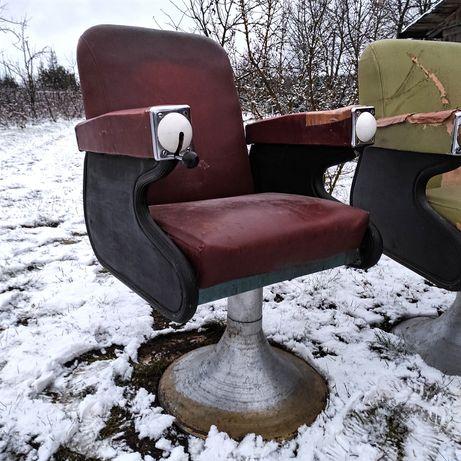 Fotele Wella Lata 50 Design Vintage Barber Art Deco