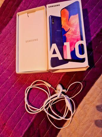 Samsung Galaxy A10 słuchawki przewodowe białe NOWE
