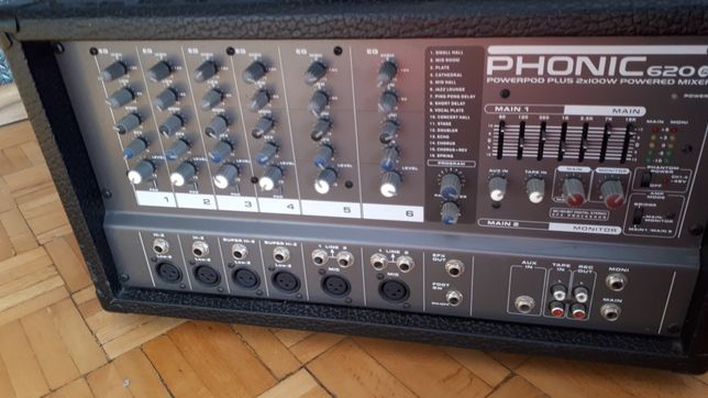 Phonic PowerPod 620 Plus powermixer 2x100/4