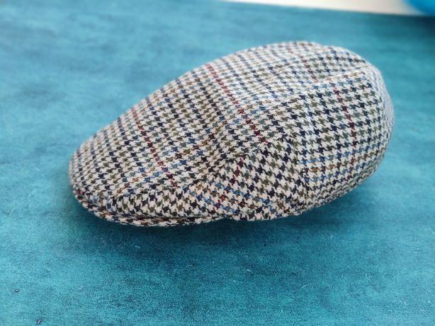 Heather Highland Harris Tweed Flat Cap, твидовая кепка