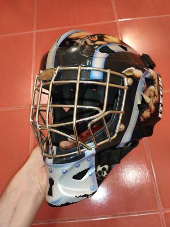 Хоккейный вратарский шлем, шолом Itech, размер L 57-60см. окружность