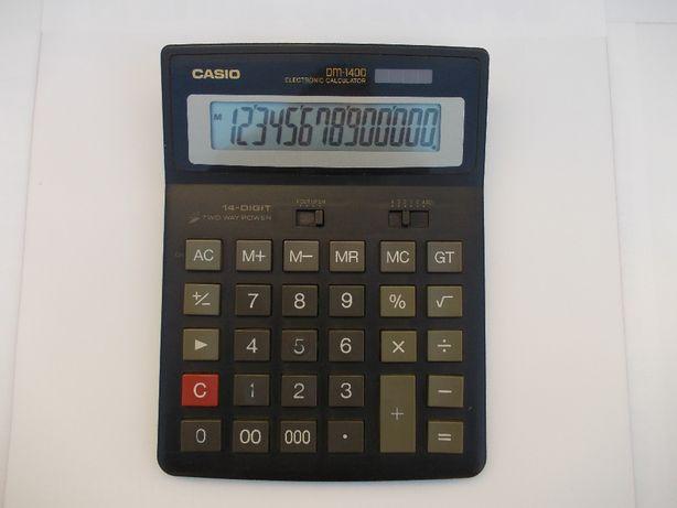 Калькулятор Casio DM-1400, 14-ти разрядный БЕСПЛАТНАЯ ДОСТАВКА