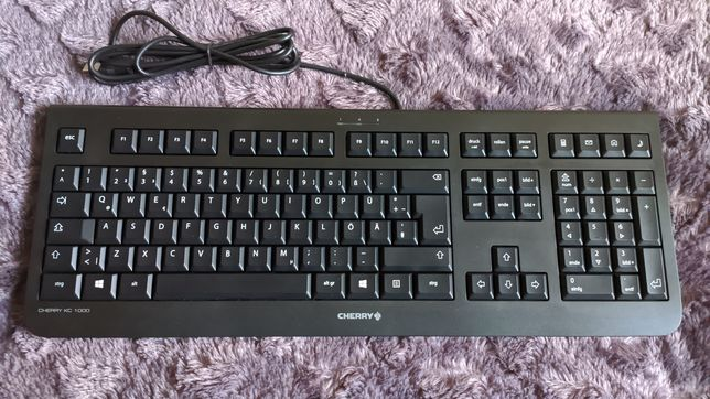 Klawiatura Cherry KC 1000 (JK-0800CH-2) Plug & Play - Nowa QWERTY