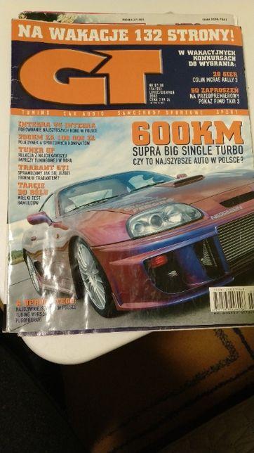 Czasopismo GT Tuning Car Audio samochody sportowe 2003/7,8