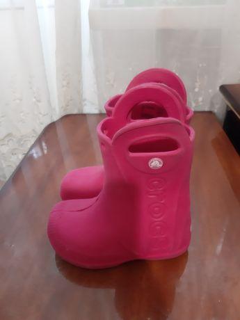 Сапоги кроксы для девочки