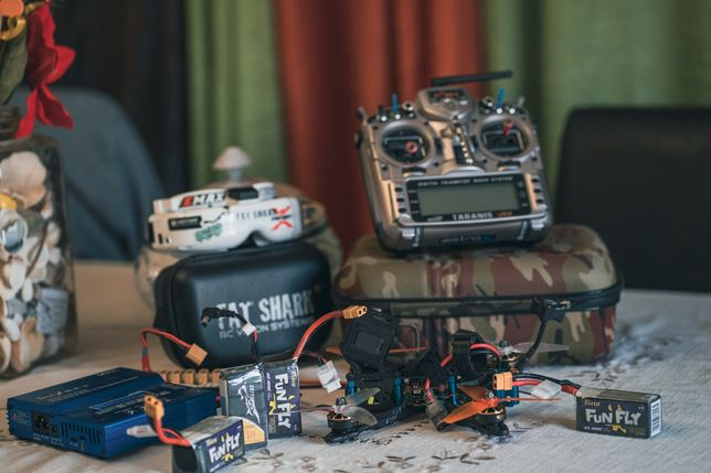 Drone racer-Setup completo