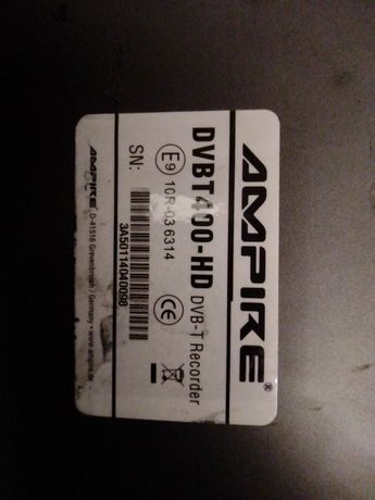 Ampire dvb t 400 hd tuner DVB-T auto