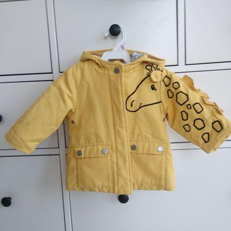 Новая куртка парка 6-9/9-12 next