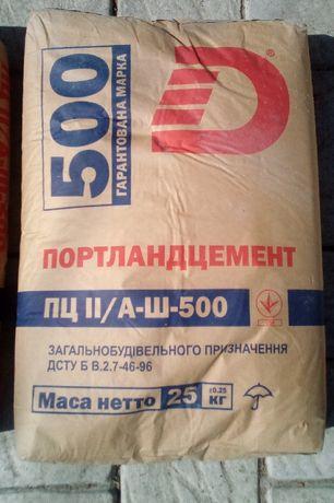 Цемент М-500 М-400 М-500(д-0) с Доставкой