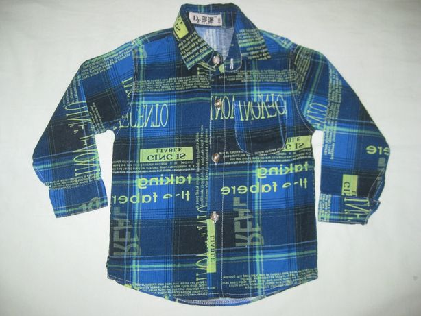Продам тёплую рубашку на мальчика