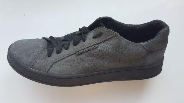 Замшевые кеды кроссовки, спортивные туфли (36р)