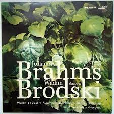 Brahms, konc skrzypcowy d-dur, Brodski,