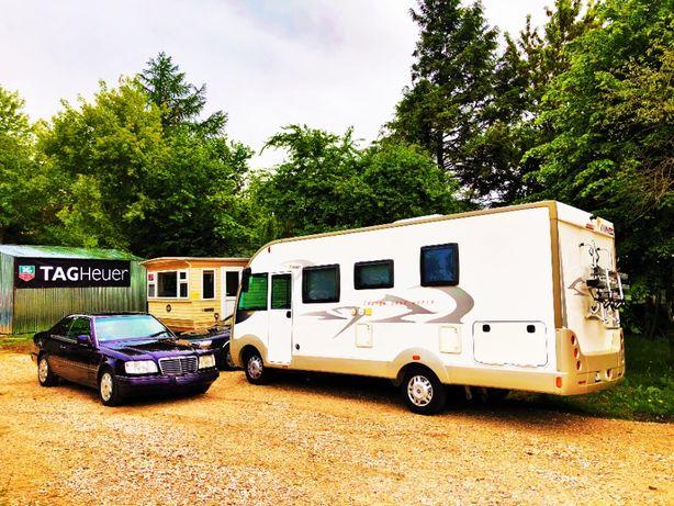 Parking dla kampera, łódki, jachtu, przyczepy kempingowej, motorówek