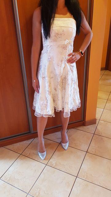 Sukienka, polecan na ślub cywilny.