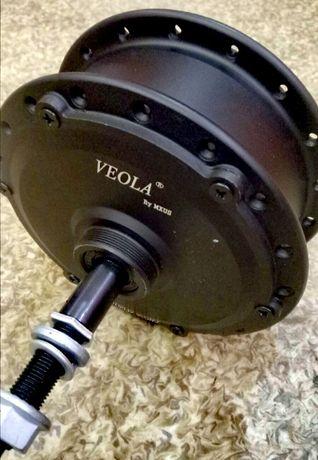 Мотор-колесо MXUS XF08 350W заднее редукторное