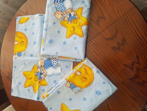 Набор постельного белья в манеж