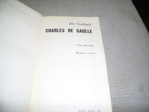 Charles de Gaulle tom 1