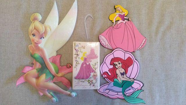 Disney Princess Księżniczki Dzwoneczek naklejki, nawilżacz powietrza