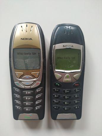Nokia 6310i plus Nokia 6210 - cena za dwa telefony, oryginalne baterie
