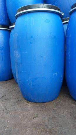 Beczki 200l na wodę oleje odpady zboże