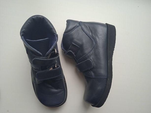 НОВЫЕ ботинки 19,8 стелька натур.кожа ботинки ортопедические мальчик