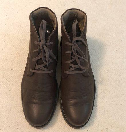 Кожаные демисезонные ботинки Caterpillar