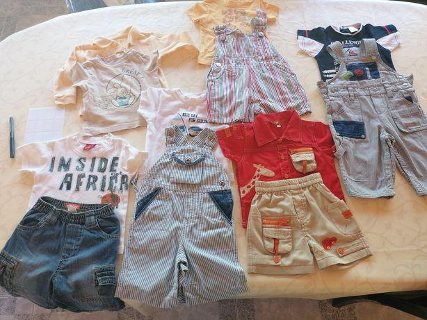 Lote roupa bebé 6 meses - 5 conj completos