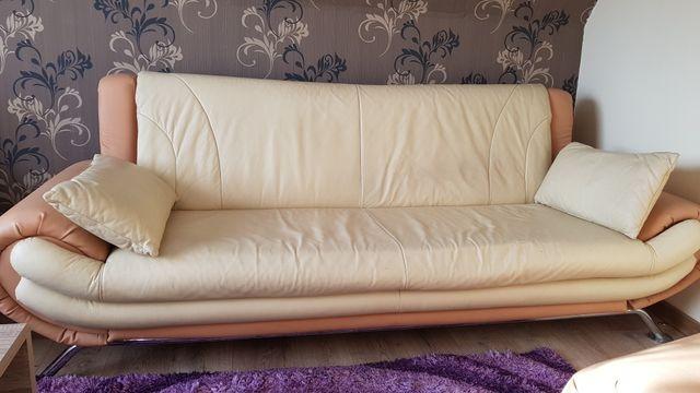 Komplet sofa z 2 fotelami