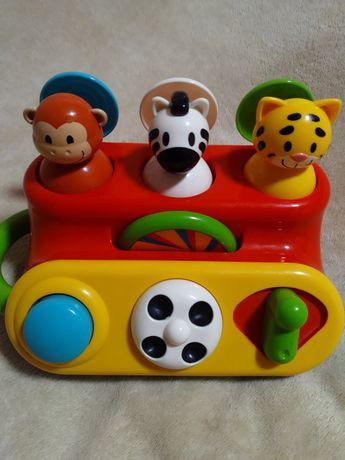 Elc. Развивающая игрушка Животные из джунглей для детей 1-3 года