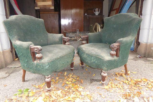 Zabytkowe fotele