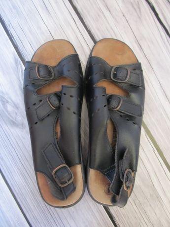 Кожаные босоножки Free-Step, размер 38