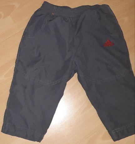 Spodnie adidas 80 dla chłopca 1 rok spodenki dresowe 1-1,5 roku 12-18