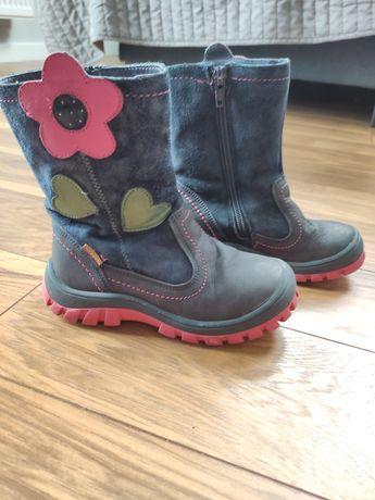 Kozaki, buty zimowe Lasocki roz 27