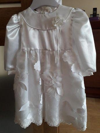 sukienka na roczek (chrzciny)