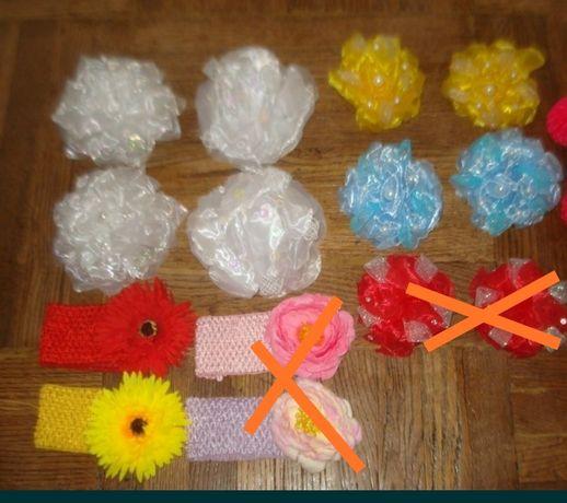 Банты и повязки девочкам