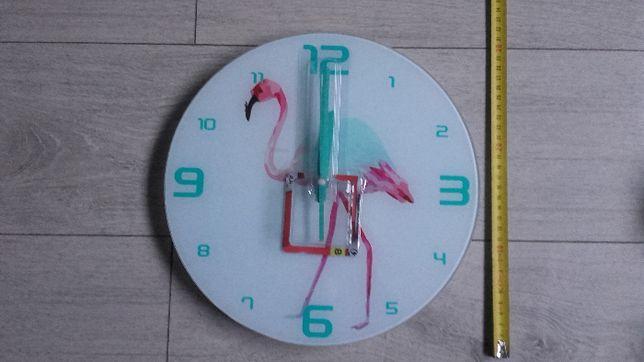 Zegar ścienny 30cm Flaming
