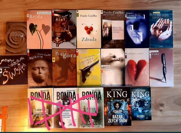 Nowe i używane książki Paulo Coelho Katarzyna Bonda Steven King