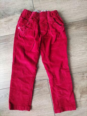 Spodnie sztruksowe dla dziewczynki