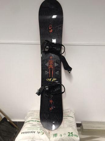 Deska snowbordowa 160cm Rossignol z wiazaniami