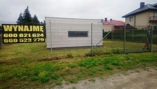 Działka przemysłowa teren biuro pod działalność Kalisz