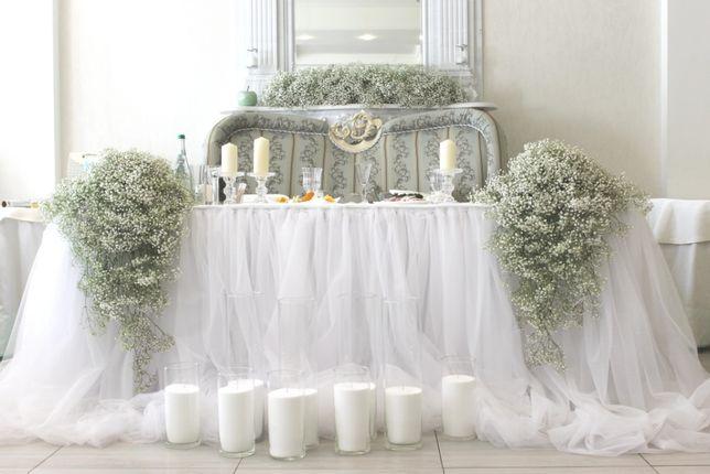 Оформление свадьбы, свадебного зала
