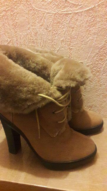 Женские ботиночки Braska 36р(23,5)