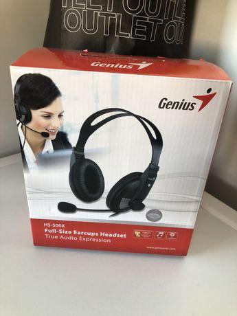 Sluchawki Genius Hs-500x
