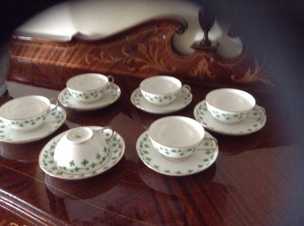 Chávenas de Chá Limoges Vintage